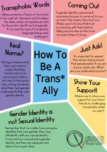 How to Be and Trans Ally